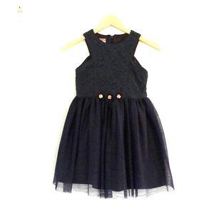 Girls fit and flare dress.